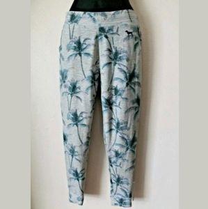 Victoria's Secret PINK Palm Tree Print Sweats XS